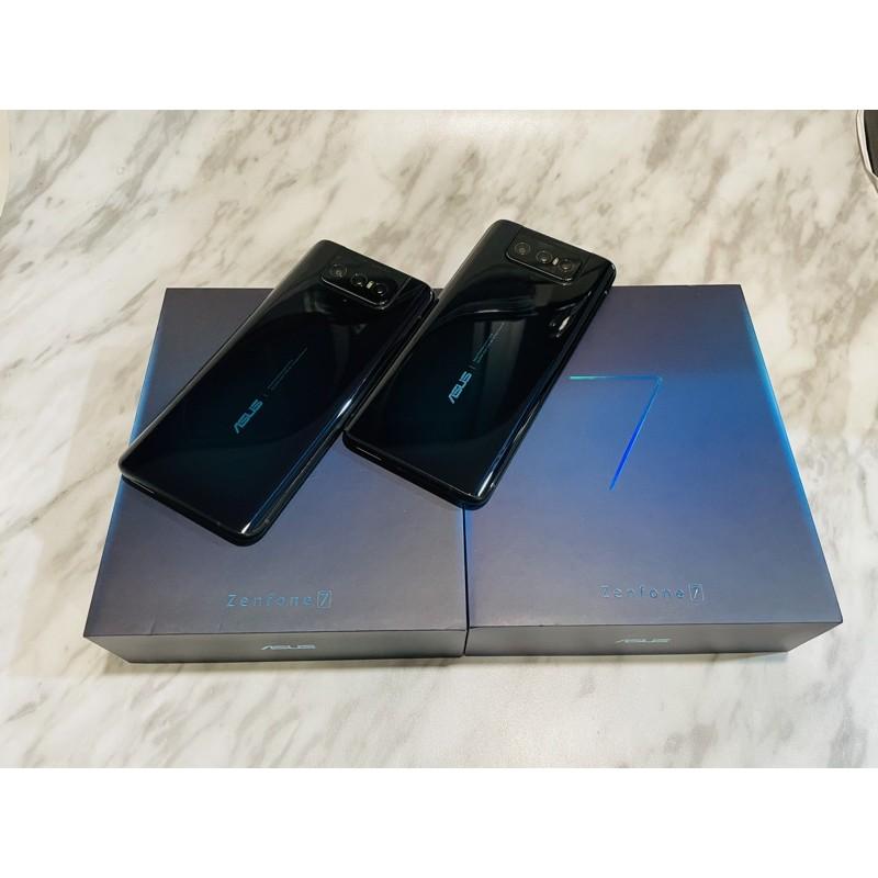 💈9/24更新!降價嘍💈二手機台灣版ASUS zenfone7  ( ZS670KS  6GB 128GB 6.67吋)