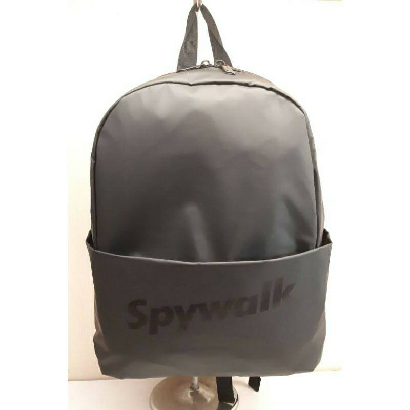 SPYWALK 輕量後背包 休閒背包 簡約背包 磨砂防水 A4可放