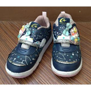 月星童鞋moonstar/ carrot女童步鞋17cm 高雄市