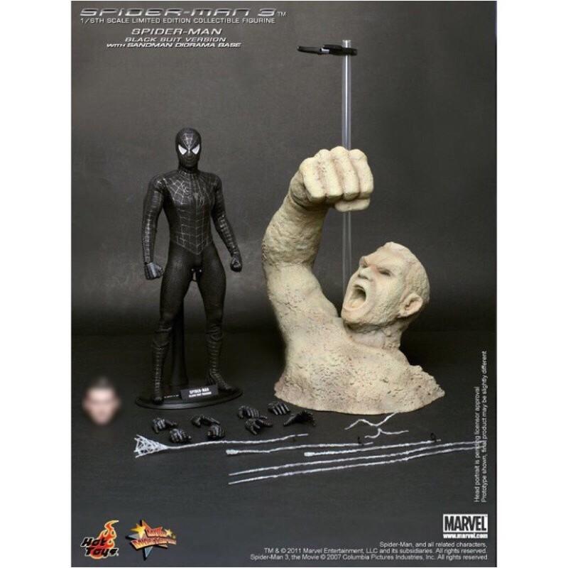Hot Toys無陶比麥奎爾頭雕暗黑蜘蛛人Spider Man MMS143 1/6 非 MMS165 MMS552