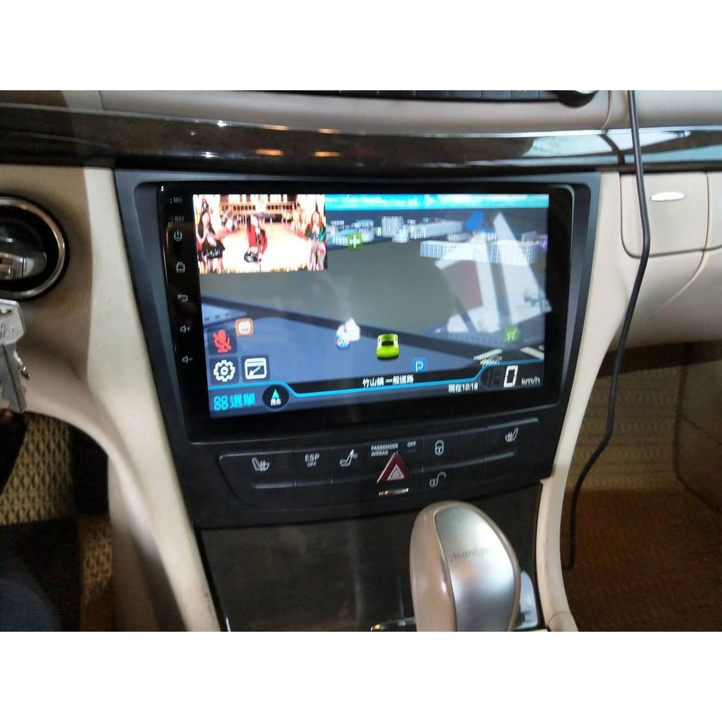 賓士 Benz E系 W211 W219 W463 W209 CLS Android 安卓版 電容式觸控螢幕主機