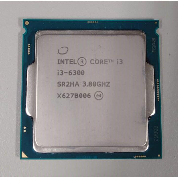intel i3-6300 i5-3350P E3-1230 i7-2600 i4-4460 i7-3770 CPU
