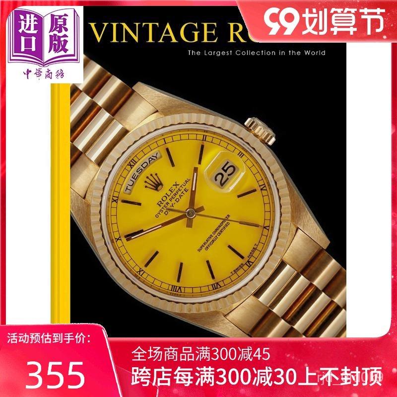 【精品好貨】Vintage Rolex 進口藝術 古董勞力士書 書籍 書本 歷史 政治 科普 百科 hk4C