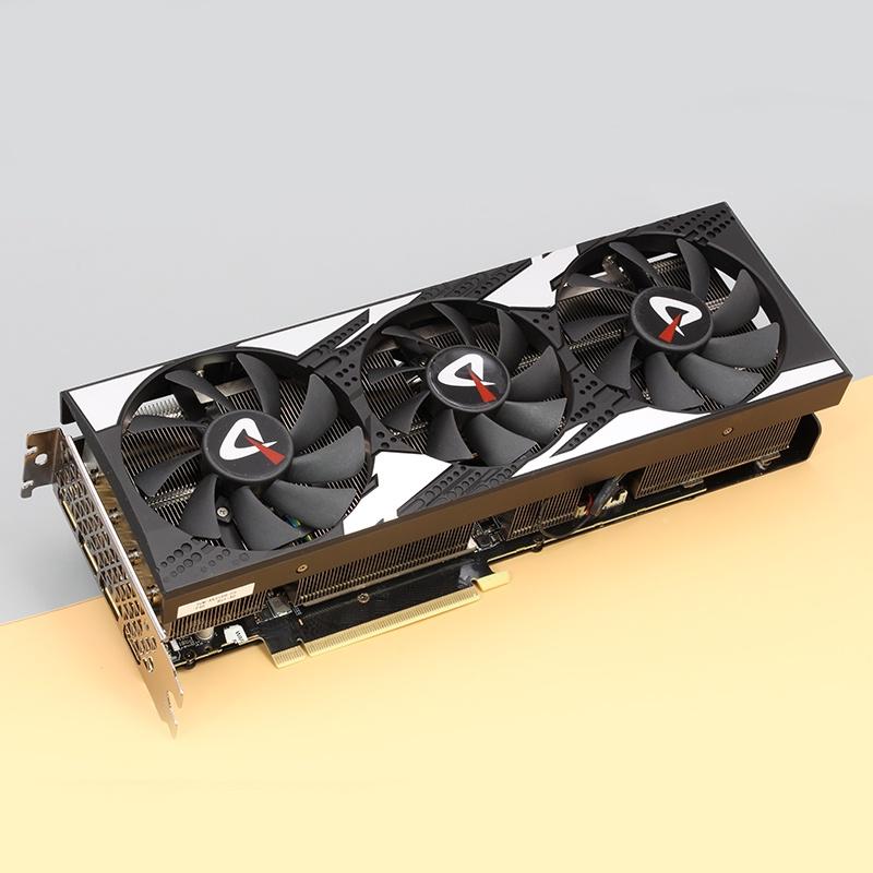 【速發】關注立減 電競叛客RTX3060ti顯卡8g 臺式機電腦獨立顯卡3060/3070/3080鎖算力nvidia運