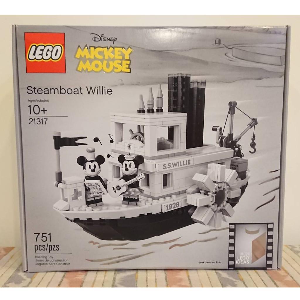 【Joyw】樂高 LEGO #21317 IDEA 米奇蒸汽船威利號