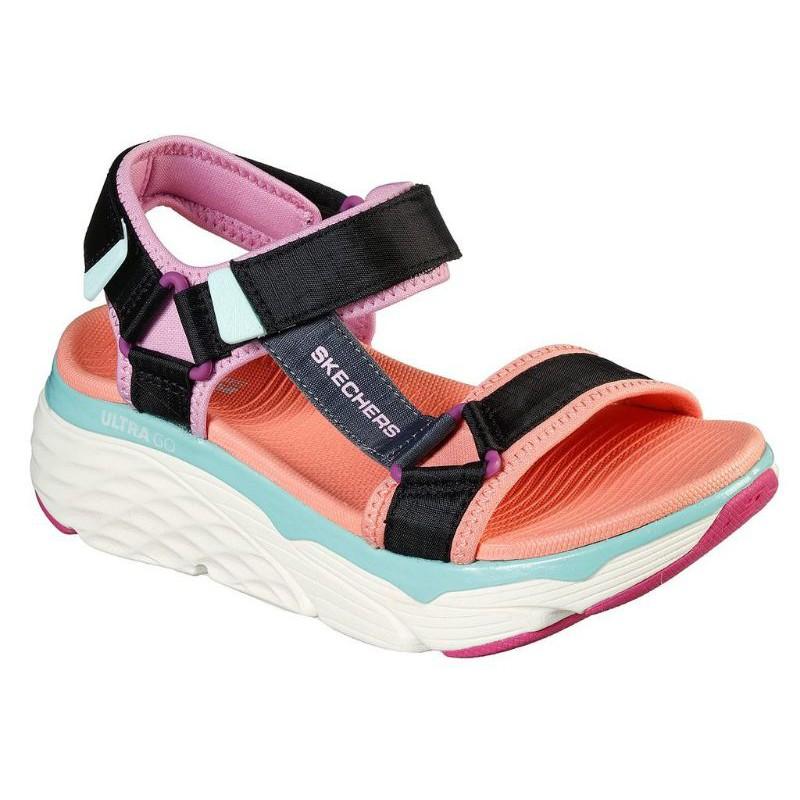 SKECHERS 女輕量健走系列 涼拖鞋 ON THE GO MAX CUSHIONING-140125BKMT