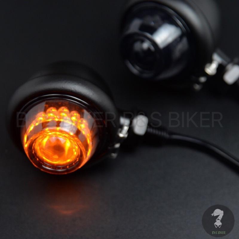 [B&S]貝茲方向燈 復古方向燈 高質感品質 檔車 LED 方向燈 SR400 w800 野狼 雲豹 愛將 KTR 凱旋