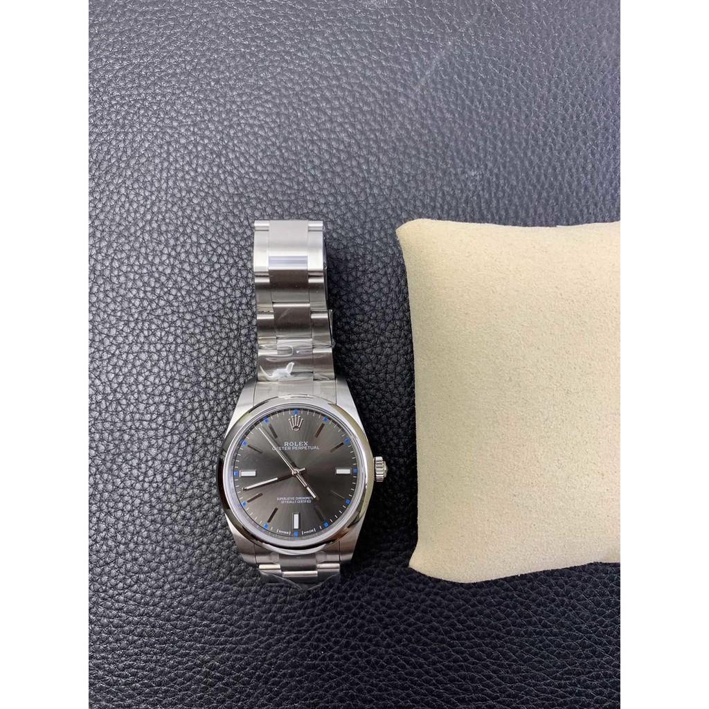 【最新款】勞力士腕錶手錶ew114300灰色面