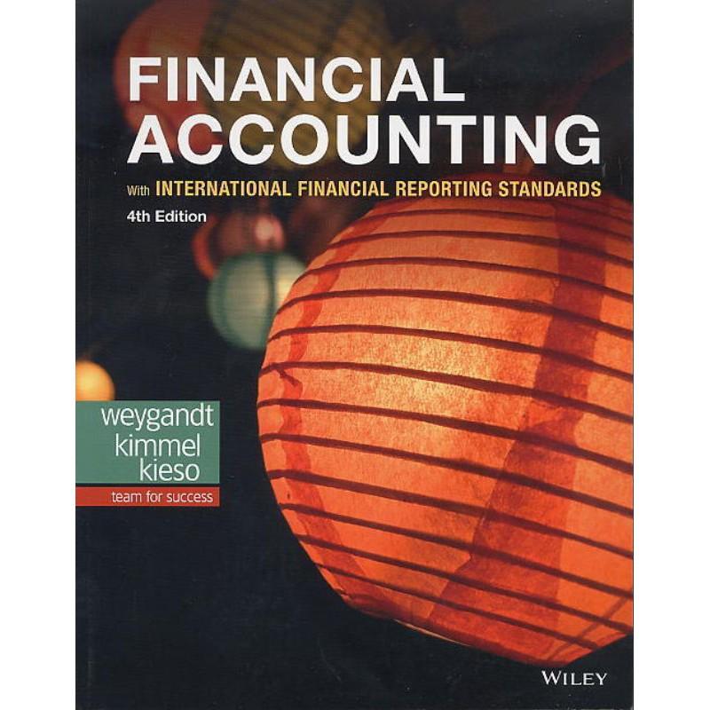 正版原文書 Financial Accounting  4e 第四版 4th 初級會計學 初會9781119504306