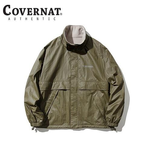 [COVERNAT] 20秋冬 雙面多功能防風外套(深米色)