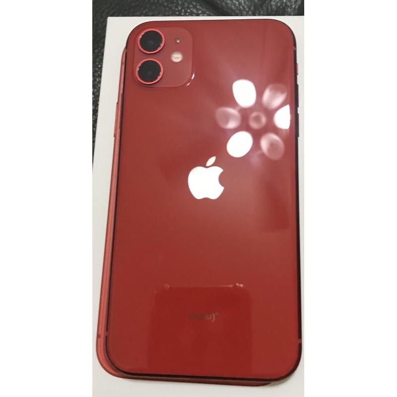 (二手)iPhone. 11 128G 紅色-女用機