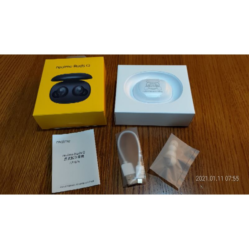 realme Buds Q 豆式藍牙耳機(白色)(RMA215)~正版台灣公司貨