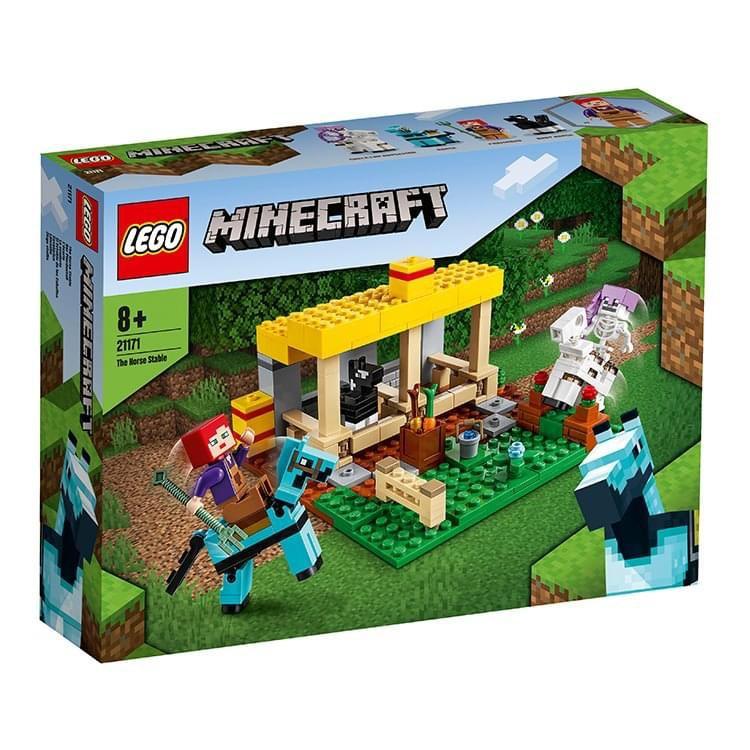 ||一直玩|| LEGO 21171 The Horse Stable (Minecraft)