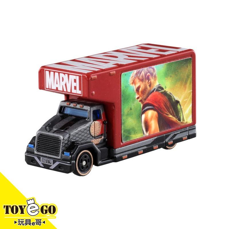 Dream TOMICA 漫威 T.U.N.E 漫威 T.U.N.E 雷神索爾 宣傳卡車 玩具e哥 97321