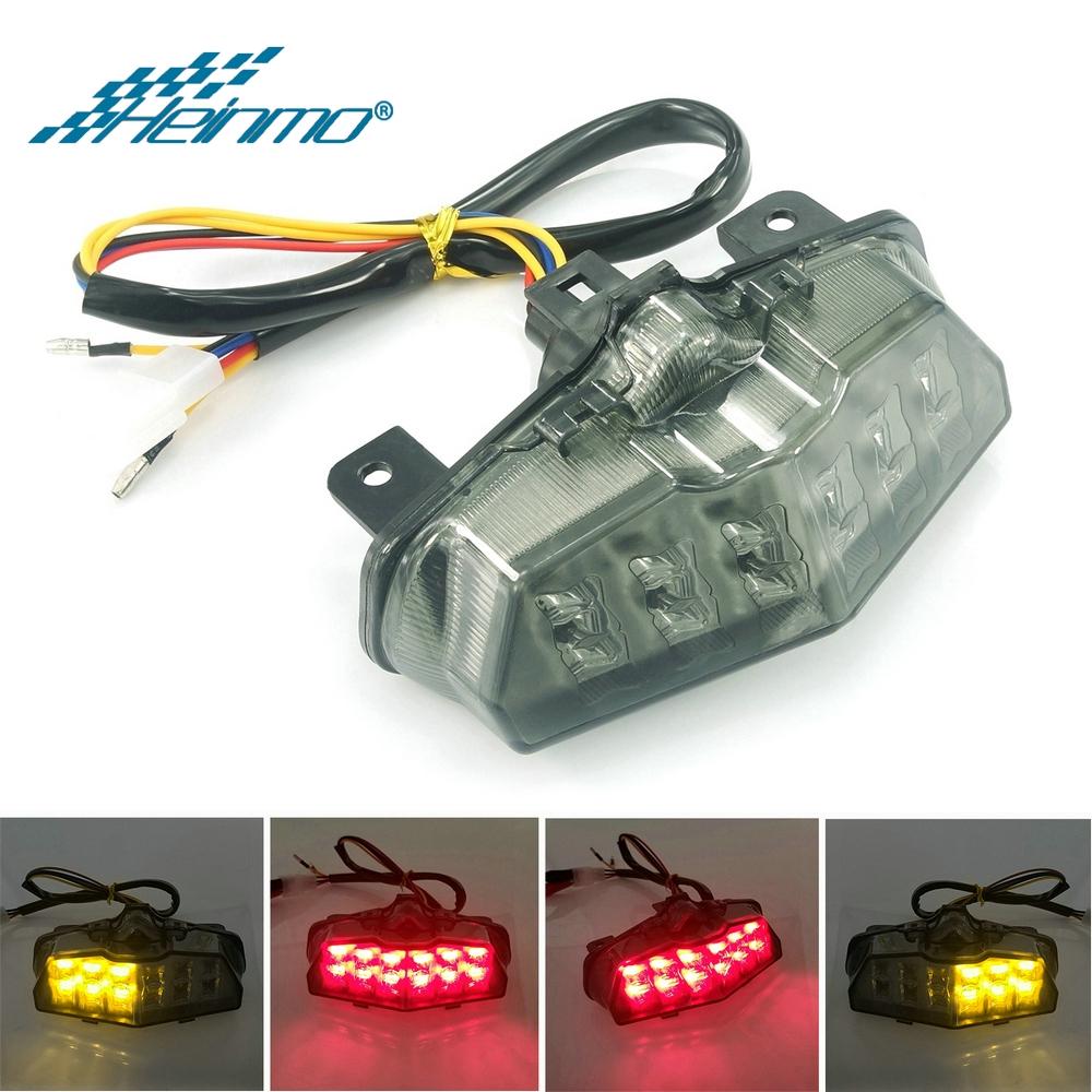 適用於 Yamaha Mslaz150 M Slaz150 Tfx150 2013-2019 尾燈轉向信號燈