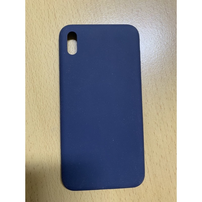 UNIU矽膠防摔手機殼(藍)iPhone Xs Max