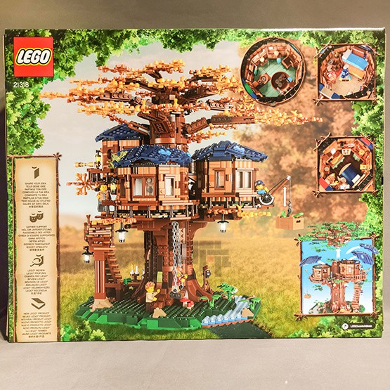 $熱賣精品$LEGO樂高IDEAS系列樹屋21318男女孩益智類拼插積木玩具