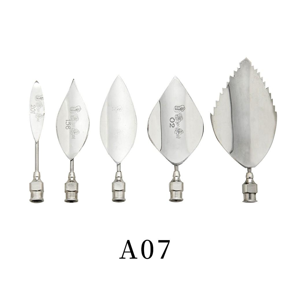優果《越南進口不鏽鋼果凍花針A07》每組內含5支針