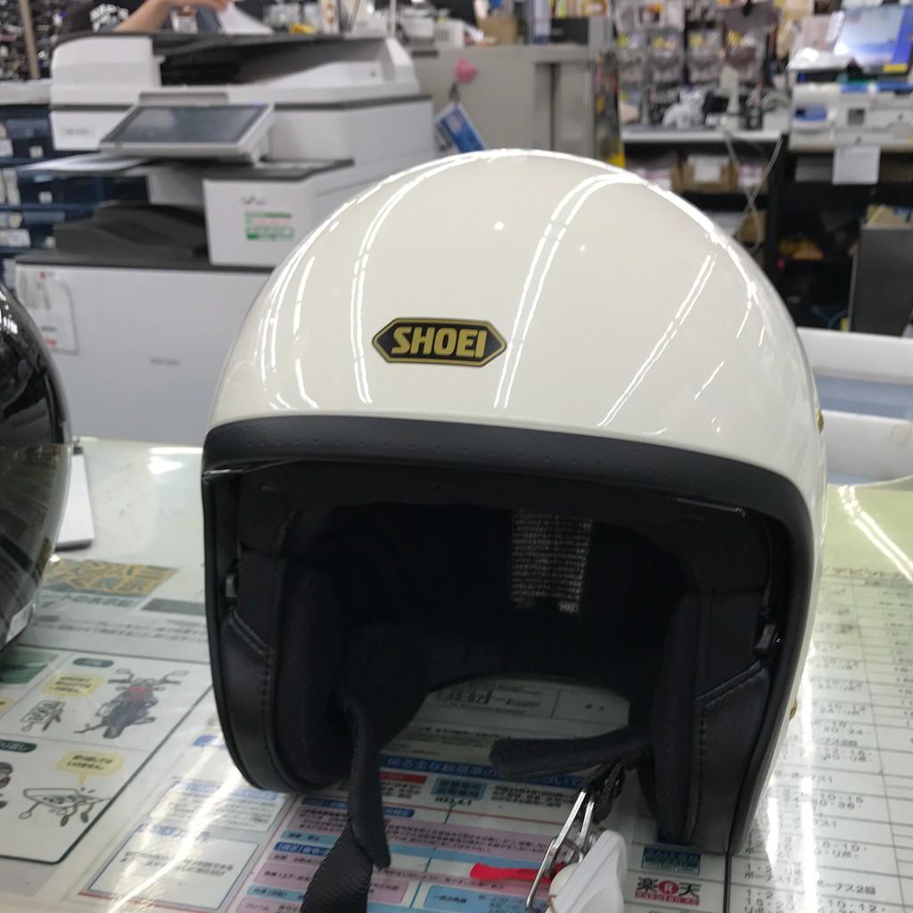 SHOEI JO 安全帽 白色 復古帽 J-O SHOEI