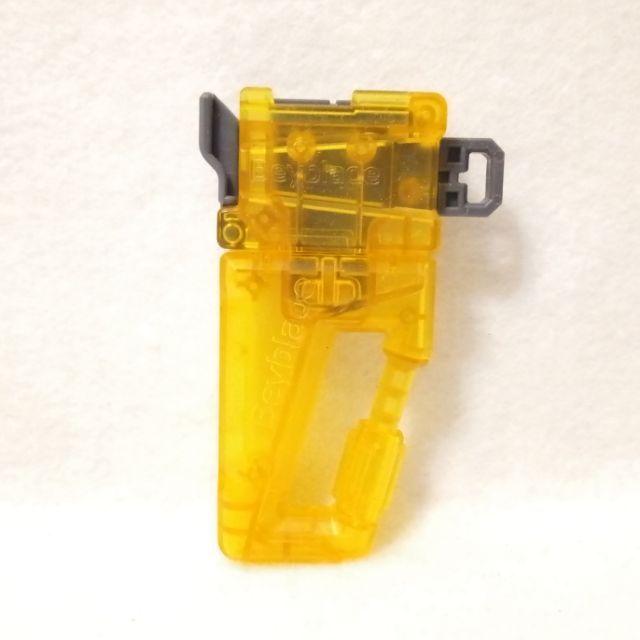 🎉正版 戰鬥陀螺 黃色 扣環握把 全新 二手 B124 戰鬥 陀螺 B 124 B-124
