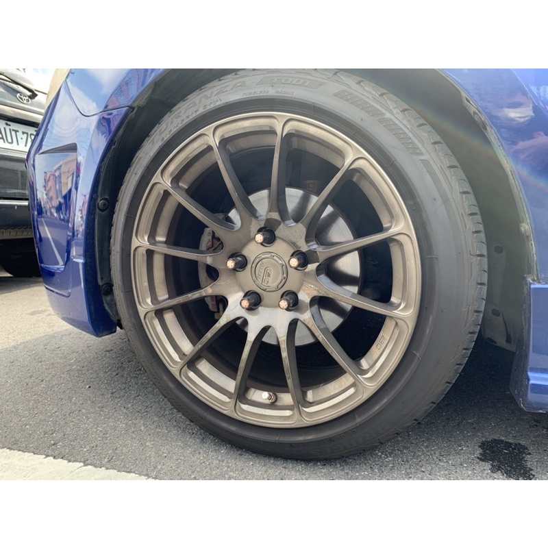BC 鍛造鋁圈 17吋 + 輪胎 215/45/17