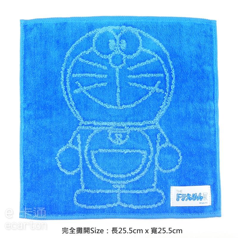 哆啦a夢 方巾 東京展覽限定商品 小叮噹 純棉 毛巾 手帕 可愛 卡通 文具 正版 doraemon
