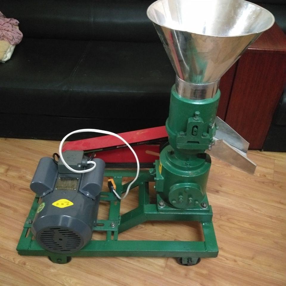 供應顆粒飼料機 養殖戶家用小型飼料顆粒機 單項電飼料顆粒造粒機