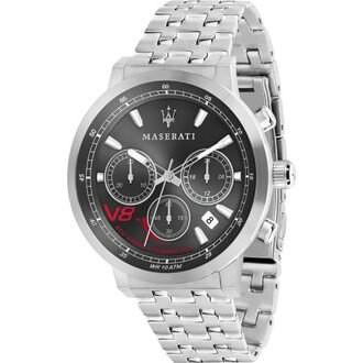 MASERATI WATCH 瑪莎拉蒂手錶 R8873134003 GT 光動能三眼計時腕錶  原廠正貨
