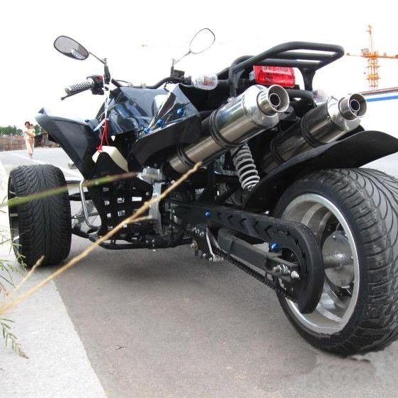 【免運】【現貨】新ATV倒三輪F1沙灘車四輪偏三輪越野摩托車14寸公路寬胎150-250c