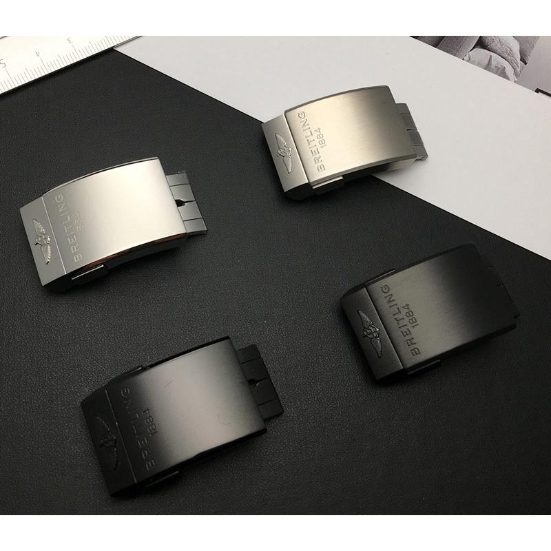 適用Breitling百年靈手表扣1884 原裝款超級海洋橡膠表帶扣20mm