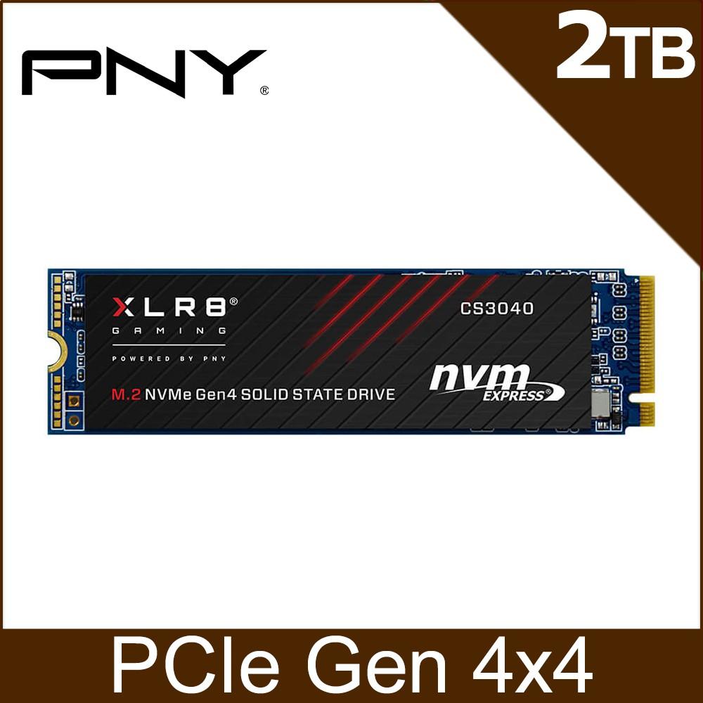 PNY XLR8 CS3040 2TB M.2 2280 PCIe Gen4x4 SSD固態硬碟 板橋