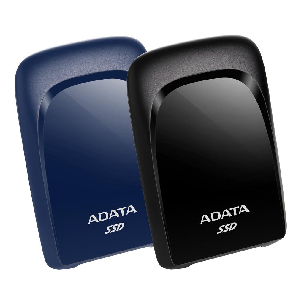 威剛 ADATA SSD SC680 240GB/480GB/960GB/1.92TB 外接式固態硬碟 藍/黑