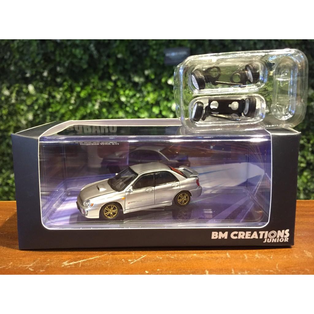 1/64 BM Creations Subaru Impreza WRX 2001 64B0081【MGM】