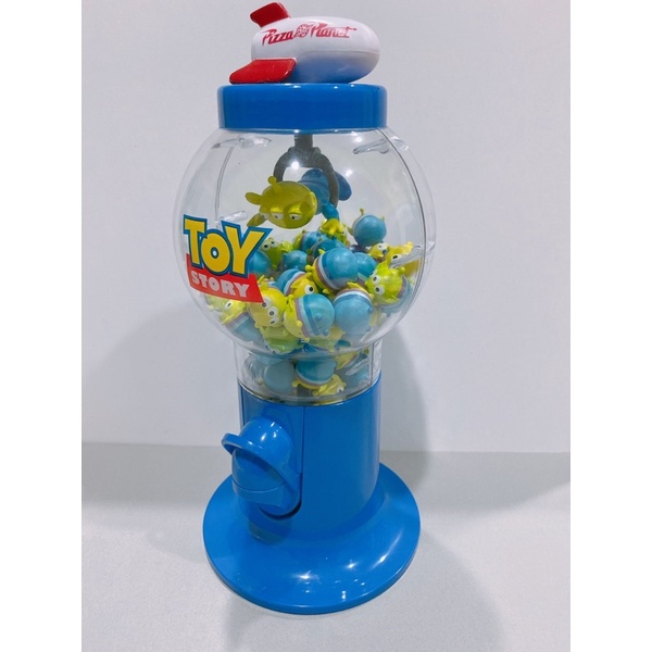 三眼怪 火箭 糖果罐 扭蛋機 披薩星球 絕版 迪士尼 皮克斯 玩具總動員