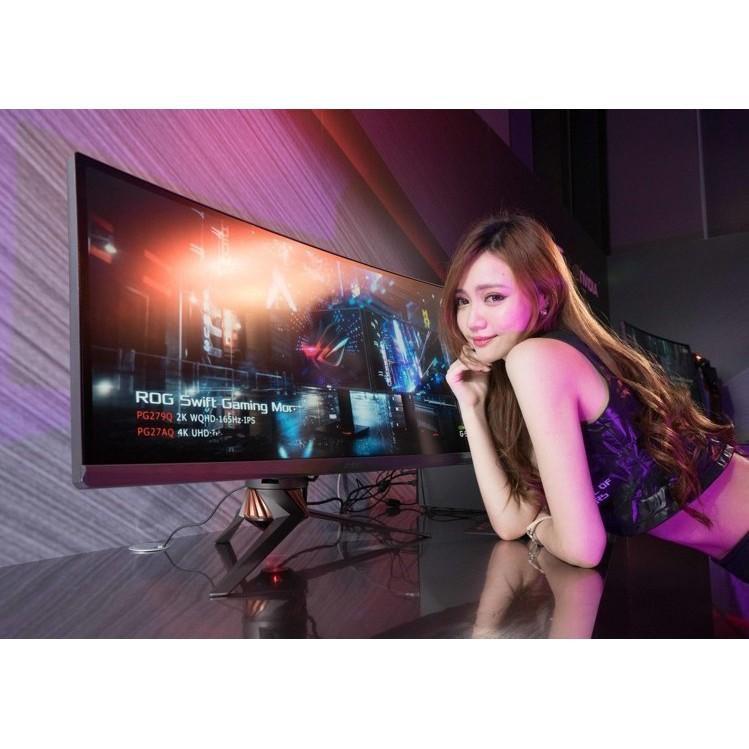 含稅華碩玩家共和國推出 34 吋曲面電競顯示器 ROG Swift PG348Q 呈現全景遊戲效果