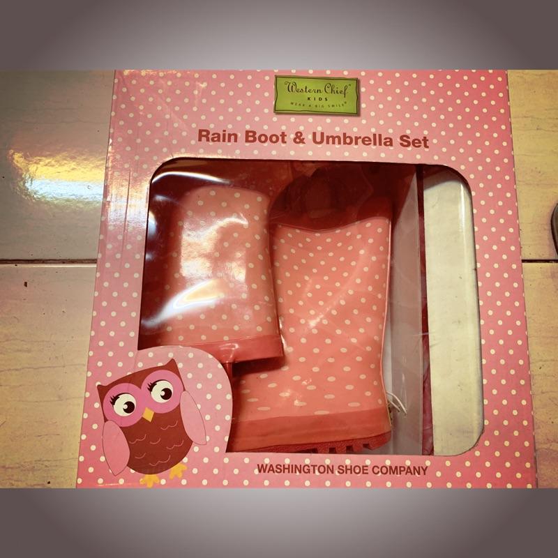 Western chief小女孩兒童雨鞋 購於好市多