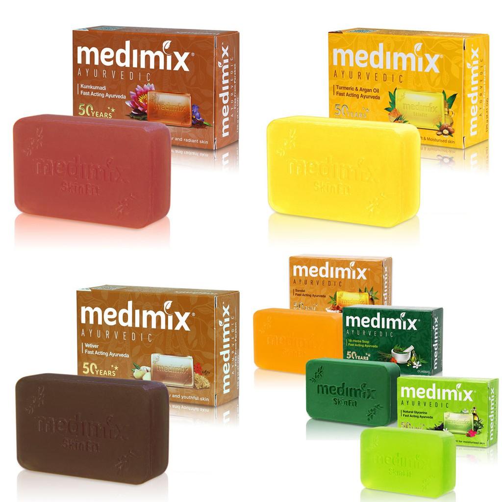 MEDIMIX 印度香皂/印度綠寶石皇室藥草浴美肌皂125g【美日多多】