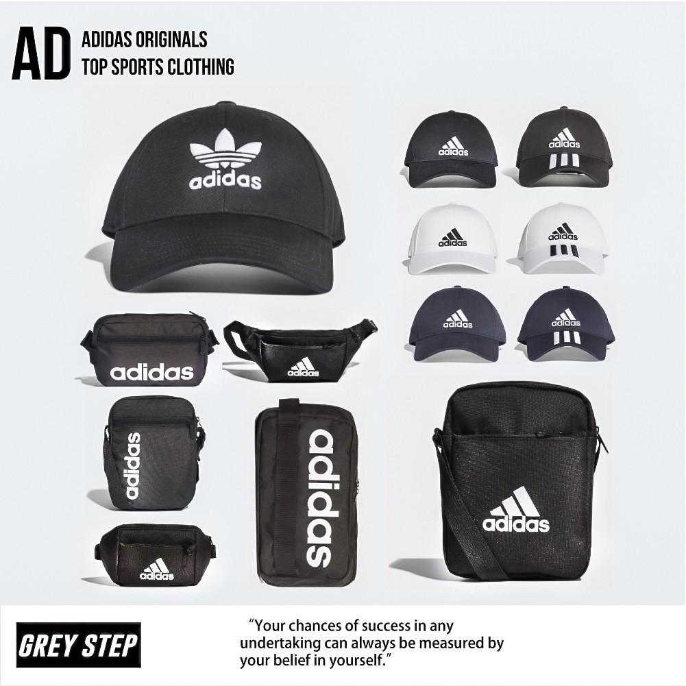 Adidas 愛迪達 帽子 腰包 肩包 老帽 FK0891 FK0899 黑色 白色 全新正品 統一發票 快速出貨 C1