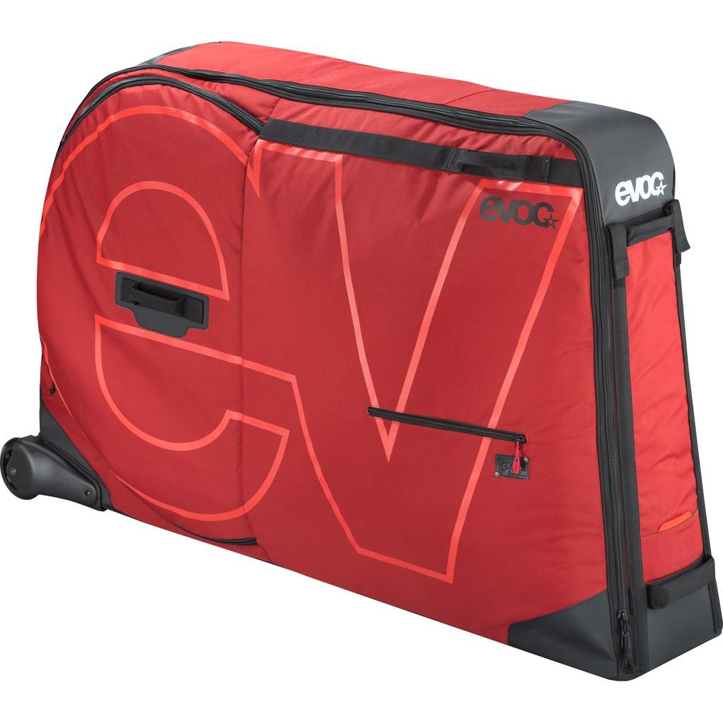 [EVOC SPORTS]BIKE TRAVEL BAG 腳踏車攜車箱 符合航空託運 軟硬混和 可摺疊收納 車架固定綁帶