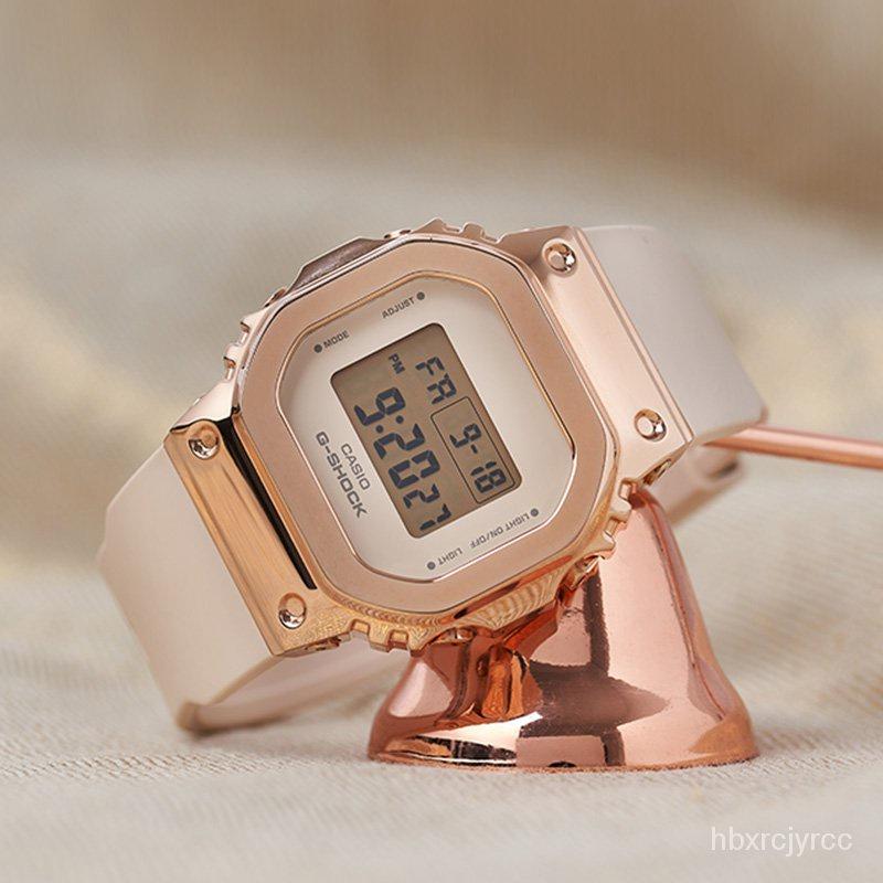 新款卡西歐小方塊G-SHOCK運動男腕手錶GM-S5600PG-4/G-7/5600-1/B-1/3 Uv16