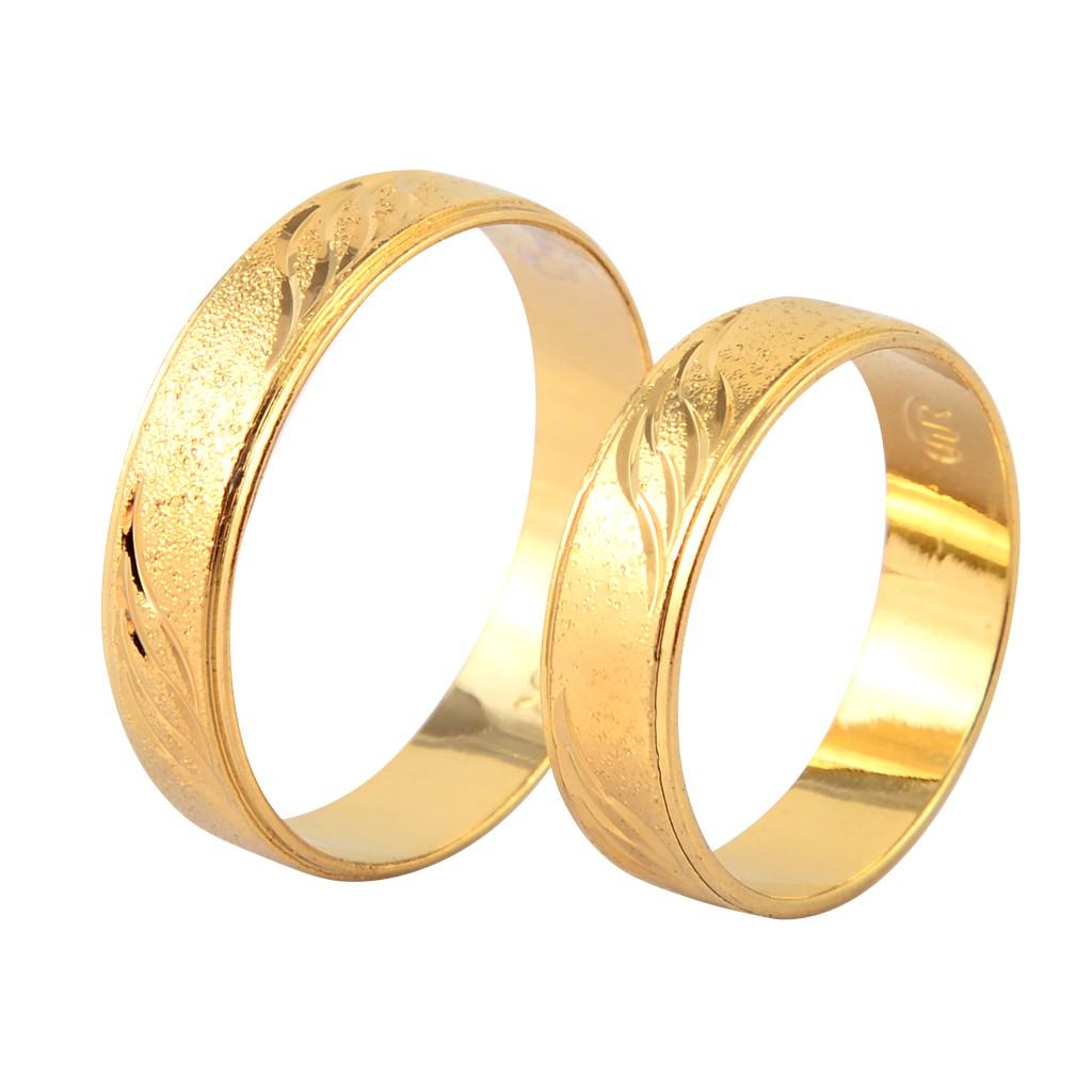 水波紋 黃金戒指 防退色 鍍24K金色 防小人尾戒 艾豆『H3568』