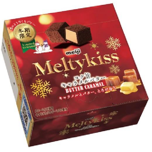 明治 Meltykiss夾餡巧克力奶油焦糖(盒)56g 【佳瑪】