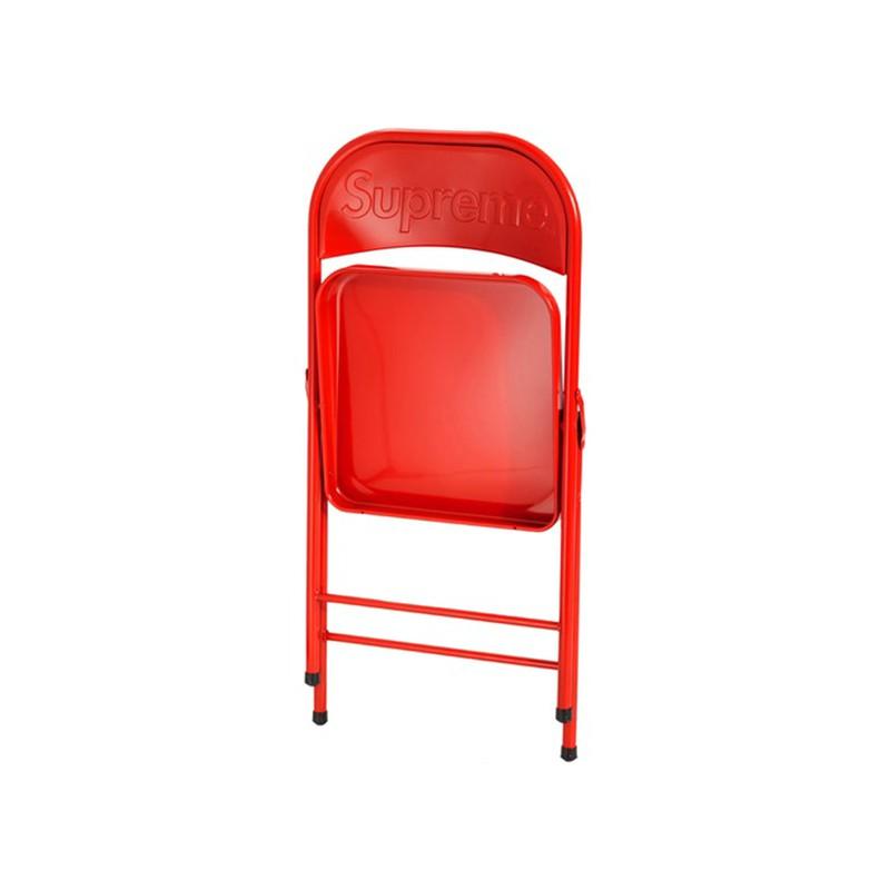 20FW  Supreme Metal Folding Chair 折疊椅 座椅 椅子靠背椅