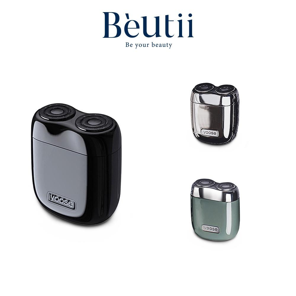yoose 迷你電動刮鬍刀 黑金禮盒版 太空漫遊版 充電式 攜帶方便 情人節禮物 Beutii