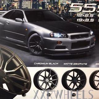 XXR559 18吋五孔108鋁圈~FOCUS MONDEO V40 V60 S60(起標價非商品實際售價 請洽詢)