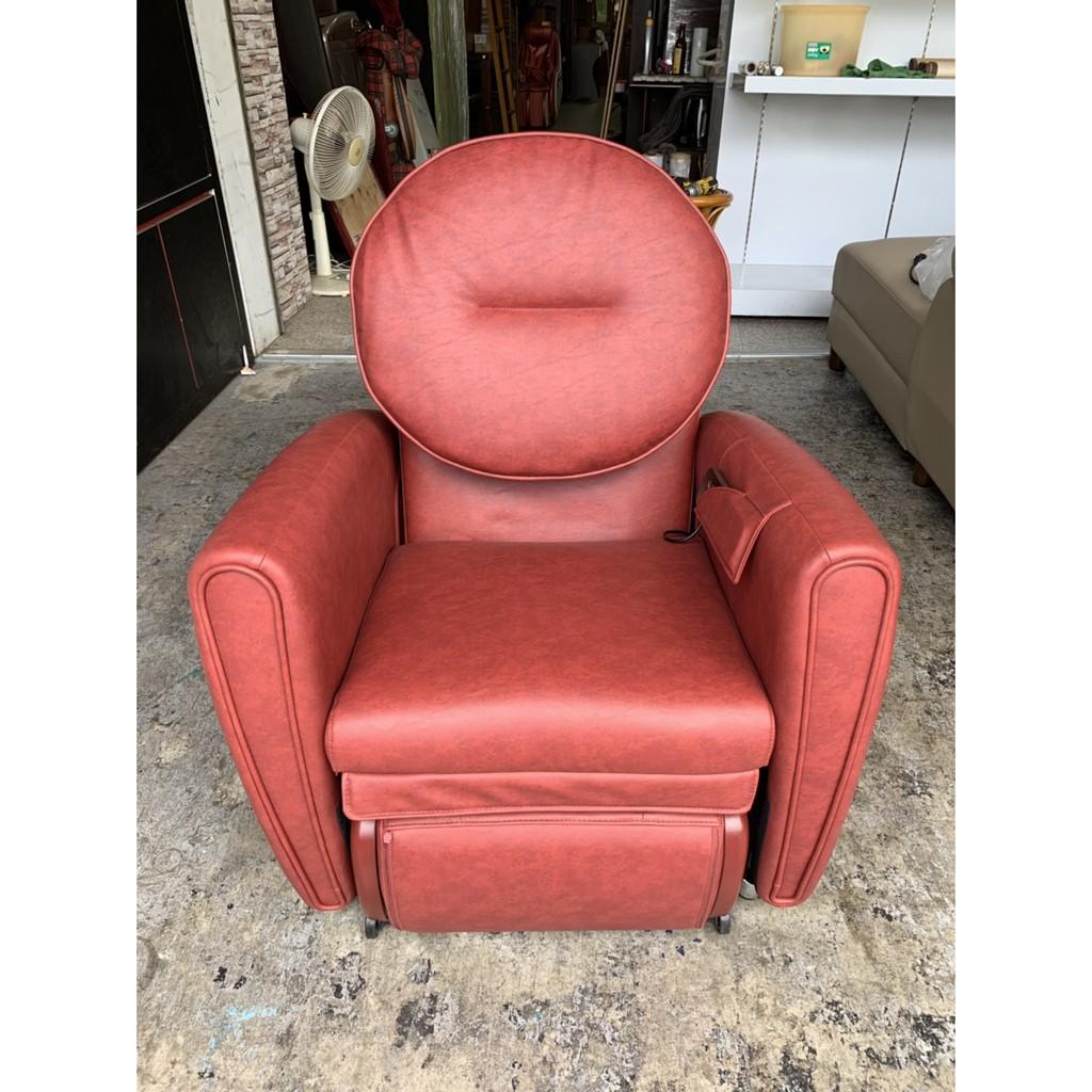 香榭二手家具*【OSIM】8變小天后按摩椅-型號:OS-875(紅色)-全身按摩椅-按摩沙發-單人沙發-電動按摩椅-2手