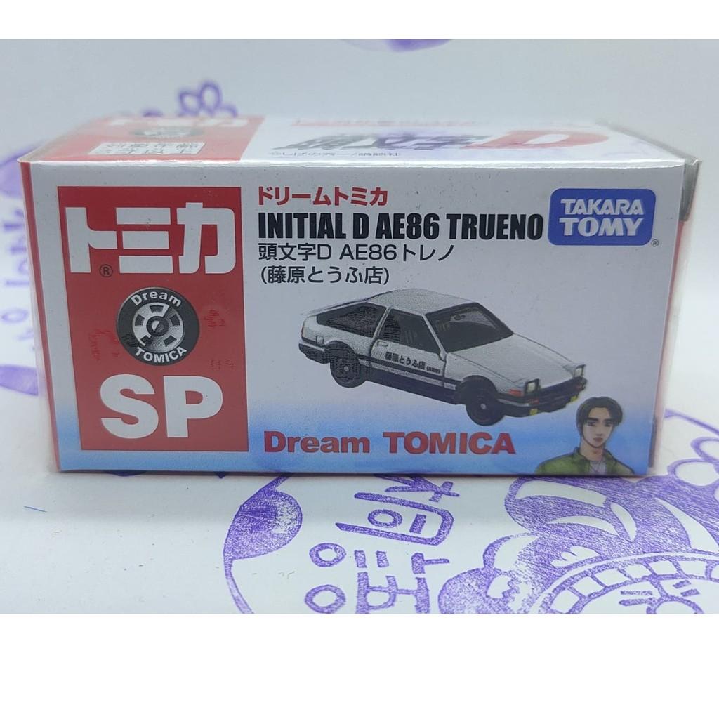 (現貨) Tomica 7-11 多美 SP 頭文字D AE86 藤原豆腐店 Initial D AE86 Trueno