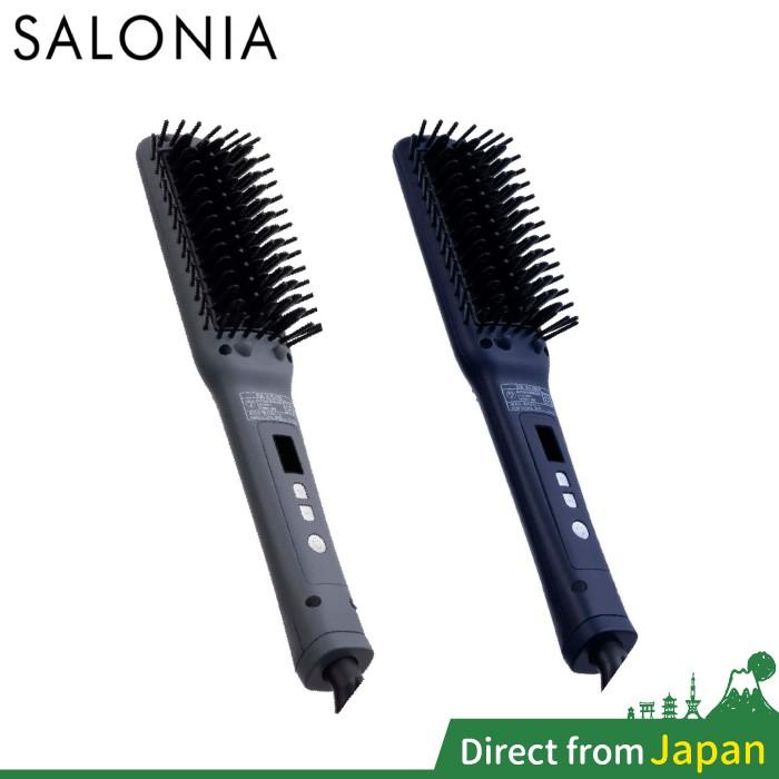 日本 Salonia 整髮梳 SL-012BKS SL-012BK 離子梳 溫控梳 造型梳 細版 SL012 20年新款