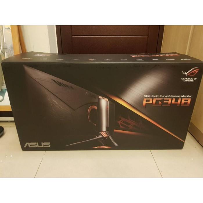 ASUS ROG SWIFT PG348Q 34吋電競螢幕*只要17500元*(A0305)/商品位置在新北市