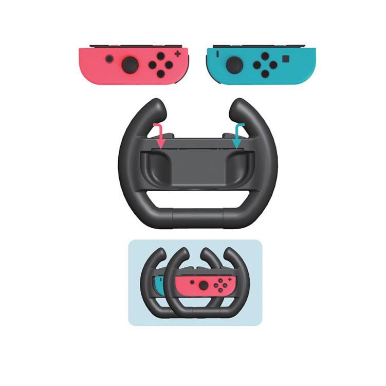 [2 件裝] Nintendo Switch 方向盤, 用於 Mario Kart 8 豪華 Nintendo Swit
